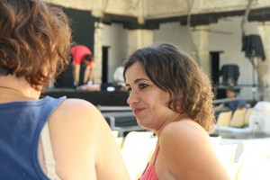 Marta Yáñez durante nuestra entrevista. Foto de Mai Serrano