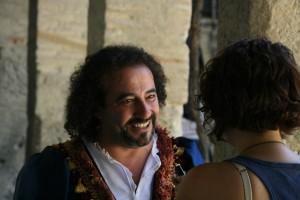 Ilde Gutiérrez durante nuestra entrevista. Foto de Mai Serrano