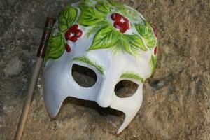 """Máscara de """"No hay burlas con el amor"""". Foto de Mai Serrano"""