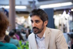 Manel Loureiro. Fotografía de Sonia Jiménez