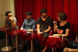 "Mike Izal, Alberto Pérez y Emmanuel Pérez ""Gato. Fotografía de Daniel Fernández Sosa"