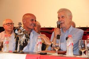 """Antonio Ruiz Escaño """"Niño Leone"""" y Julio Sempere. Fotografía de Ana Belén Robles"""