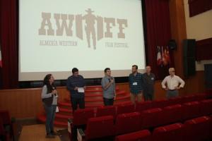 Representantes de los cortometrajes participantes. Fotografía de Ana Belén Robles