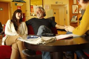 Susana Abiatua y Adolfo Fernández. Fotografía de Malasangre Photography