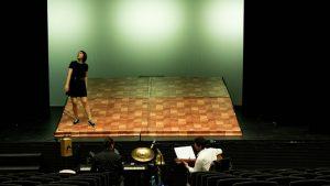 Carmen Huete durante el ensayo. Fotografía de Miguel Ruiz (Malasangre Photography)
