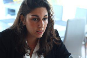 Alba González de Molina. Fotografía de Daniel Fernández Sosa