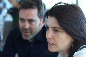 Pol Rodríguez y Laia Marull. Fotografía de Daniel Fernández Sosa