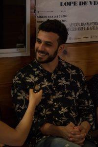 Samy Khalil. Fotografía de Miguel Ruiz