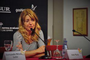 """Inés París (Premio del Público por """"La noche que mi madre mató a tu padre""""). Fotografía de Ana Sonia Macías Martín"""
