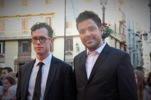 Martin Bacigalupo y Carles Torras. Fotografía de Ana Sonia Macias Martín