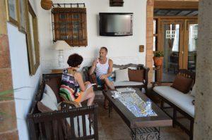 Entrevista con Miguel del Arco. Fotografía de Laura Vil.