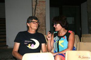 Miguel Serrano durante nuestra entrevista. Fotografia de Mai Serrano