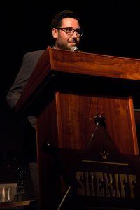 José Díaz. Alcalde de Tabernas. Fotografía de Carlos Freire
