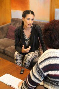 India Martínez. Fotografía de Loli Cerezo