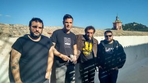 Nacho Jaula, Pepo Galán, Javier Arnal y Marco Kowalski. Fotografía de Damián Fernández