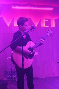 Alba Jiménez en el concierto de la Sala Velvet Club. Fotografía de Loli Cerezo
