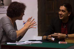 Mago Teto durante nuestra entrevista en Casa de Porras. Fotografía de Carlos Freire