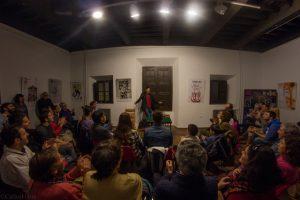 """Actuación de """"Tolemaxias"""" en la Casa de Porras. Fotografía de Carlos Freire"""