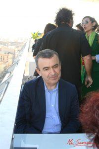 Lorenzo Silva durante nuestra entrevista. Fotografía de Mai Serrano