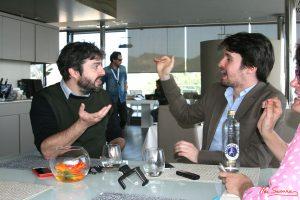Víctor García León y Santiago Alverú. Fotografia de Mai Serrano