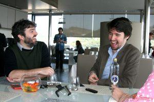 Víctor García León y Santiago Alverú. Fotografía de Mai Serrano
