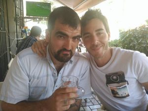 Miguel Ángel Almanza y Andrés Suárez