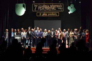 Foto final de premiados del VII Almeriía Western Film Festival