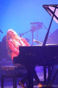 María Toledo al piano