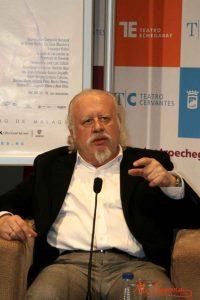 """Juan Echanove durante la rueda de prensa de """"Sueños"""" en el Teatro Cervantes. Fotografía de Mai Serrano."""