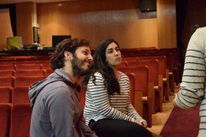 Pablo Gómez Pando y María Díaz. Fotografía de Tamsimple.