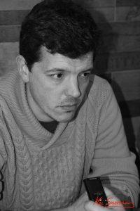 Javier Coronilla, diseñador de animatrónica. Fotografía de Mai Serrano.