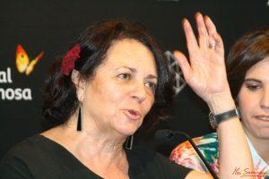 La actriz protagonista, Gloria Muñoz. Fotografía de Mai Serrano.