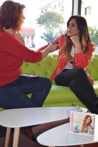 Merche durante nuestra entrevista. Fotografía de Támara Ramírez.