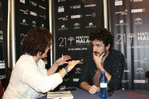 Miki Esparbé durante nuestra entrevista. Fotografía de Mai Serrano.