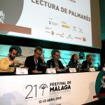 Clausura 21 edición Festival de Cine en Español de Málaga