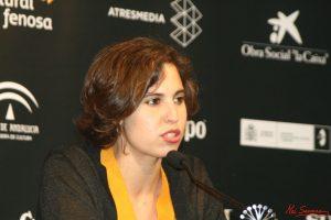 """Marta Díaz de Lope, directora de """"Mi querida cofradía"""". Fotografía de Mai Serrano."""