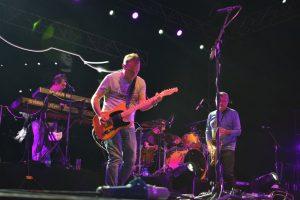 Hombres G durante el concierto en el Palacio de Ferias y Congresos de Málaga