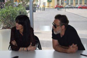 Susana Alva y Frasco G. Ridgway. Fotografía de Tamara Ramírez.