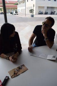 Susana Alva y Frasco G.Ridgway. Fotografía de Tamara Ramírez.