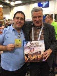 Dan con Mac Gerdts