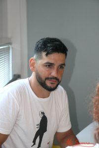 Fran Perea durante nuestra entrevista