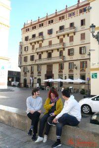 Pablo Gómez-Pando Y Víctor Sevilla durante nuestra entrevista. Fotografía de Mai Serrano,
