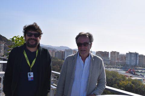 Entrevista Santi Amodeo y Óscar Martínez – Yo, mi mujer y mi mujer muerta – 22 Festival de Cine en Español de Málaga