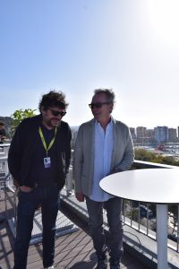 Santi Amodeo y Óscar Martínez