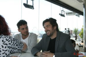 Gonzalo Fernández y Roberto Bueso durante nuestra entrevista. Fotografía de Mai Serrano.