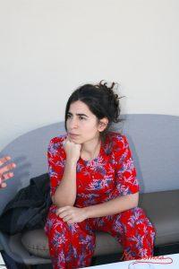 Irene Moray durante nuestra entrevista. Fotografía de Mai Serrano.