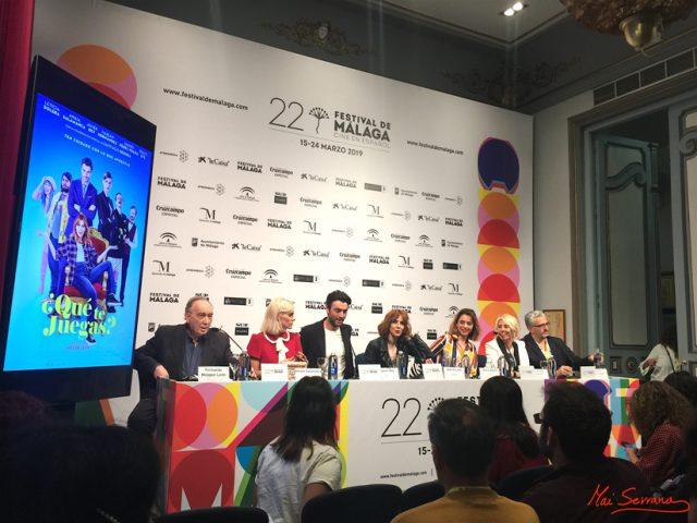 Entrevista Marián Hernández, Daniel Pérez Prada, Amaia Salamanca, Javier Rey e Inés de León – Que te juegas – 22 Festival Cine en Español de Málaga
