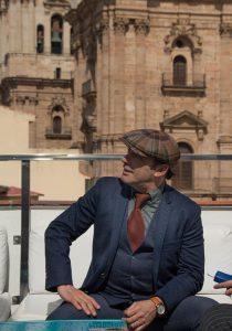 Zenet durante nuestra entrevista. Fotografía de Carlos Freire.
