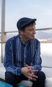 Jose Taboada durante nuestra entrevista. Fotografía de Carlos Freire.