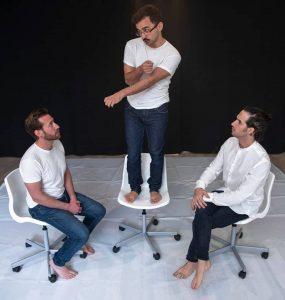 Pablo Fortes, Nahuel Cardozo y Vicen Arcos. Fotografía de Grita HIll